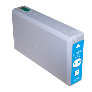 Compatible Epson 78XXL Cyan High Capacity Ink Cartridge (T7892)