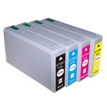 Compatible Epson 78XXL Set of 4 High Capacity Ink Cartridges (T7901/T7902/T7903/T7904)