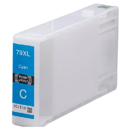 Original Epson 79 Cyan Ink Cartridge (C13T79124010)