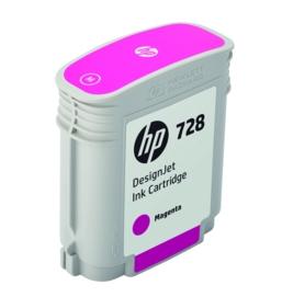 HP Original 728 Magenta Inkjet Cartridge - (F9J62A)