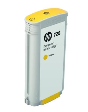 HP Original 728 Yellow High Capacity Inkjet Cartridge - (F9J65A)