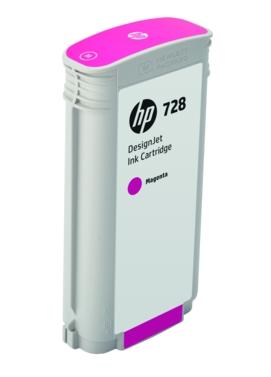 HP Original 728 Magenta High Capacity Inkjet Cartridge - (F9J66A)