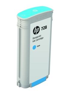 HP Original 728 Cyan High Capacity Inkjet Cartridge - (F9J67A)