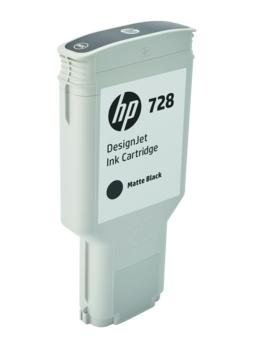 HP Original 728 Matt Black Extra High Capacity Inkjet Cartridge - (F9J68A)