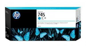 HP Original 745 Cyan High Capacity Inkjet Cartridge - (F9K03A)