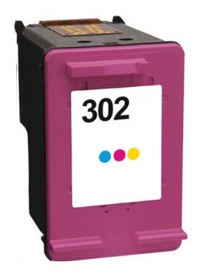 Remanufactured HP 302 Colour Ink Cartridge High Capacity (F6U65AE)