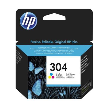 HP Original 304 Tri-Colour Inkjet Cartridge - (N9K05AE)