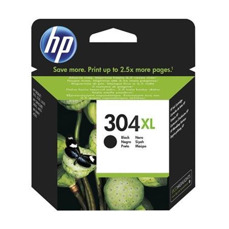 HP Original 304XL Black High Capacity Inkjet Cartridge - (N9K08AE)