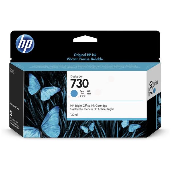 HP Original 730 Cyan Inkjet Cartridge P2V62A