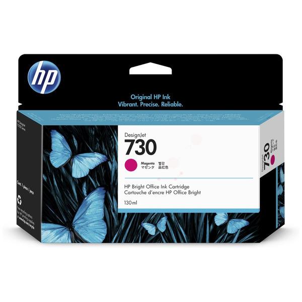 HP Original 730 Magenta Inkjet Cartridge P2V63A