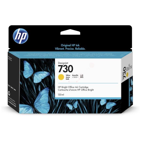 HP Original 730 Yellow Inkjet Cartridge P2V64A