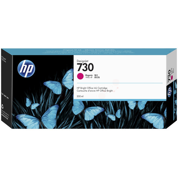 HP Original 730 Magenta High Capacity Inkjet Cartridge P2V69A