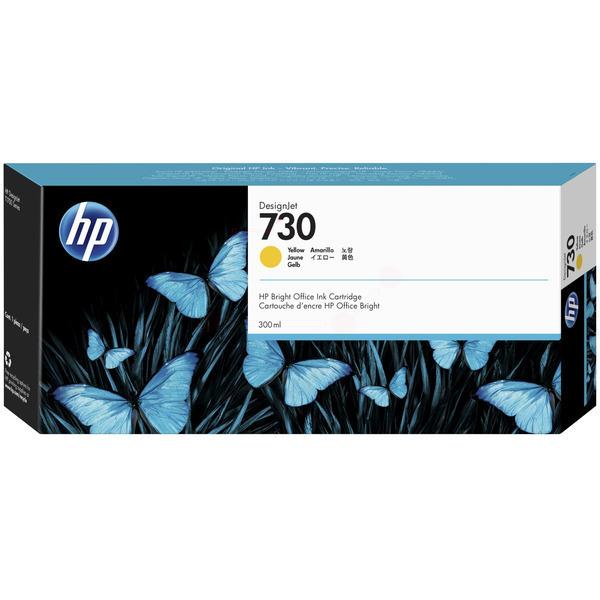 HP Original 730 Yellow High Capacity Inkjet Cartridge P2V70A