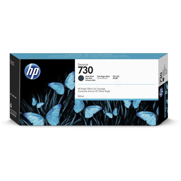 HP Original 730 Matte Black High Capacity Inkjet Cartridge P2V71A