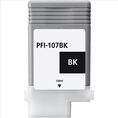 Compatible Canon PFI107BK Black Ink Cartridge