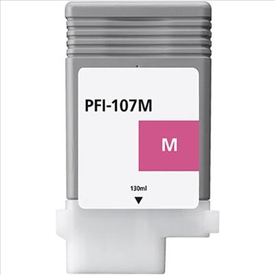 Compatible Canon PFI107M Magenta Ink Cartridge