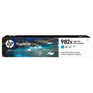 HP Original 982X Cyan High Capacity Inkjet Cartridge - (T0B27A)