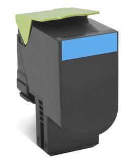 Original Lexmark 0C540H1CG Cyan Toner Cartridge