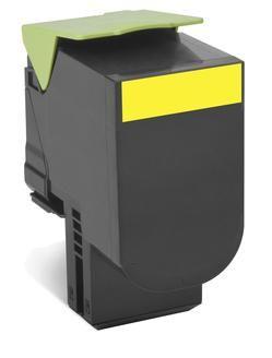 Original Lexmark 0C540A1YG Yellow Toner Cartridge
