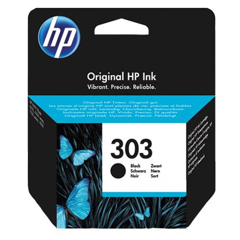 HP Original 303 Black Inkjet Cartridge - (T6N02AE)