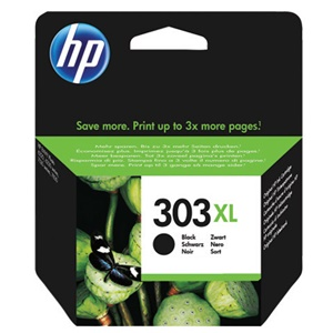 HP Original 303XL Black High Capacity Inkjet Cartridge - (T6N04AE)