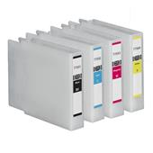Compatible Epson T7551/T7552/T7553/T7554 Set of 4 Ink Cartridges High Capacity (Black/Cyan/Magenta/Yellow)