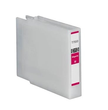 Compatible Epson T7553 Magenta Ink Cartridge High Capacity