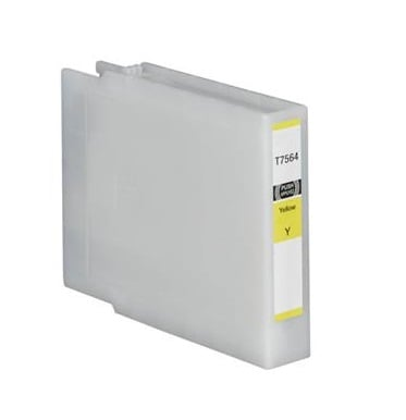 Compatible Epson T7554 Yellow Ink Cartridge High Capacity