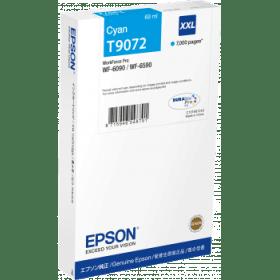Epson Original T9072 XXL Cyan Extra High Capacity Inkjet Cartridge - (C13T907240)