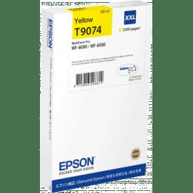 Epson Original T9074 XXL Yellow Extra High Capacity Inkjet Cartridge - (C13T907440)