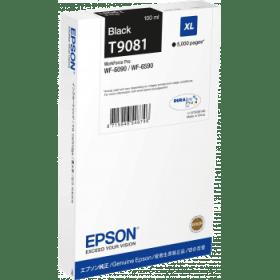 Epson Original T9081 Black High Capacity Inkjet Cartridge - (C13T908140)