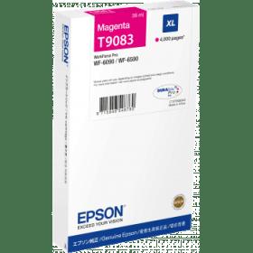 Epson Original T9083 Magenta High Capacity Inkjet Cartridge - (C13T908340)
