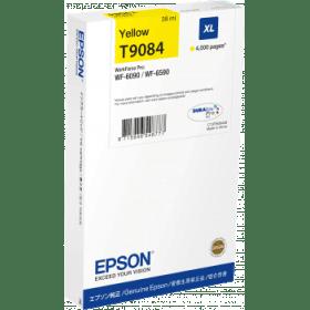 Epson Original T9084 Yellow High Capacity Inkjet Cartridge - (C13T908440)
