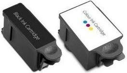 Compatible Advent ABK10 Black and ACLR10 Colour Ink Cartridges