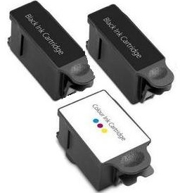 Compatible Advent ABK10 Black and ACLR10 Colour Ink Cartridges + EXTRA BLACK