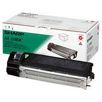 Original Sharp AL110DC Black Toner Cartridge