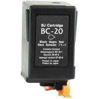 Remanufactured Canon BC-20 Black Ink cartridge