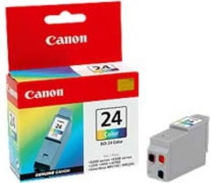 Original Canon BCI-24C Colour Ink Cartridge (6882A002)