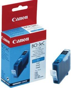 Original Canon BCI-3C Cyan Ink Cartridge (4480A002)