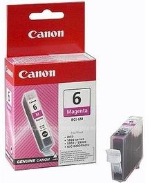 Original Canon BCI-6M Magenta Ink Cartridge (4707A002)