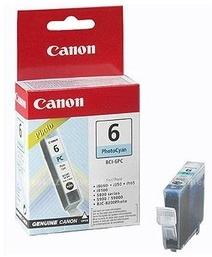 Original Canon BCI-6PC Photo Cyan Ink Cartridge (4709A002)