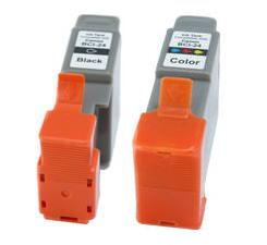 Compatible Canon BCI-21BK Black and BCI-21C Colour Ink cartridges
