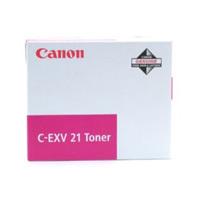 Original Canon C-EXV21 Magenta Toner Cartridge (0454B002AA)