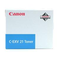 Original Canon C-EXV21 Cyan Toner Cartridge (0453B002AA)