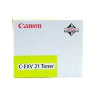 Original Canon C-EXV21 Yellow Toner Cartridge (0455B002AA)