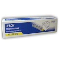 Original Epson C13S050242 Yellow Toner Cartridge