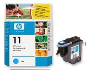 Original HP 11 Cyan Printhead (C4811A)