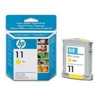 Original HP 11 Yellow Ink Cartridges (C4838AE)