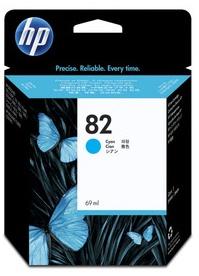 Original HP No.82 Cyan Ink Cartridge High Capacity (C4911A)