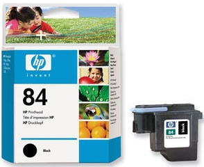 Original HP 84 Black Printhead